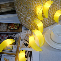 Novelty Banana Light String 3M 20 Leds Fruit String Light For Party Decoration DIY Home Room