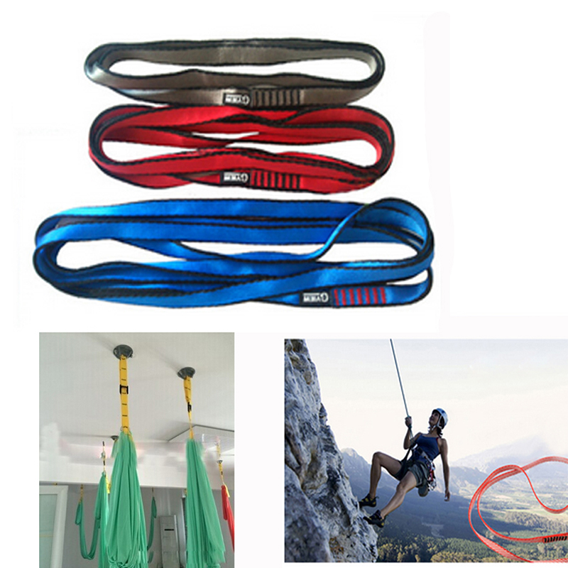 Wholesale Portable Safety Belt Outdoor Sports Camping Climbing Aloft Work Lifeline Emergency Rope Personal Security Equipment