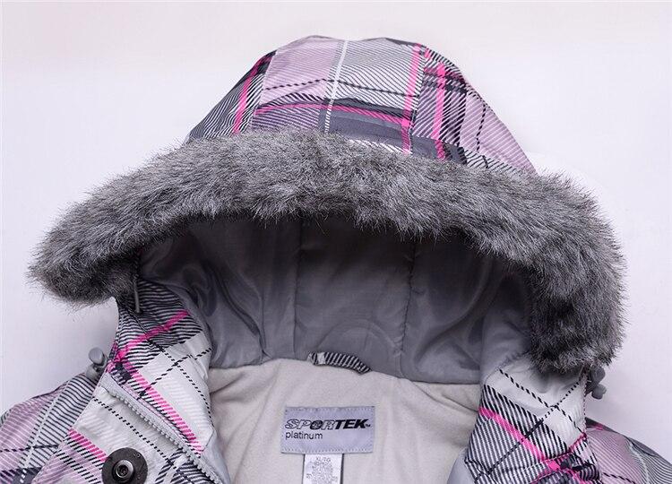 Nouveau femmes snowboard vestes montagne ski costume femmes ski vêtements livraison gratuite imperméable veste ski costume ensemble - 2