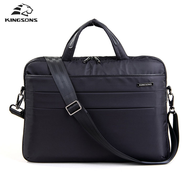 Kingsons Brand 14.1 inch Notebook Computer Laptop Fashion Waterproof Bag for Women Shoulder Messenger Bags Ladies Girls Handbag lowepro protactic 450 aw backpack rain professional slr for two cameras bag shoulder camera bag dslr 15 inch laptop