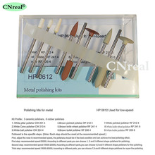 цена 1 set Dental Metal Polishing Kit HP0612 Polishers for Low Speed Handpiece онлайн в 2017 году