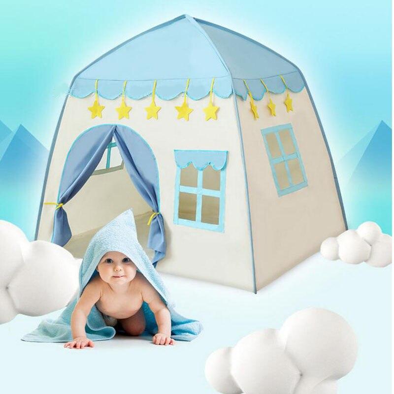 Nouveau-né tipi enfants jeu maison Wigwam enfants Oxford tissu sec balle piscine tente pour événements bébé espace personnel activité de plein air