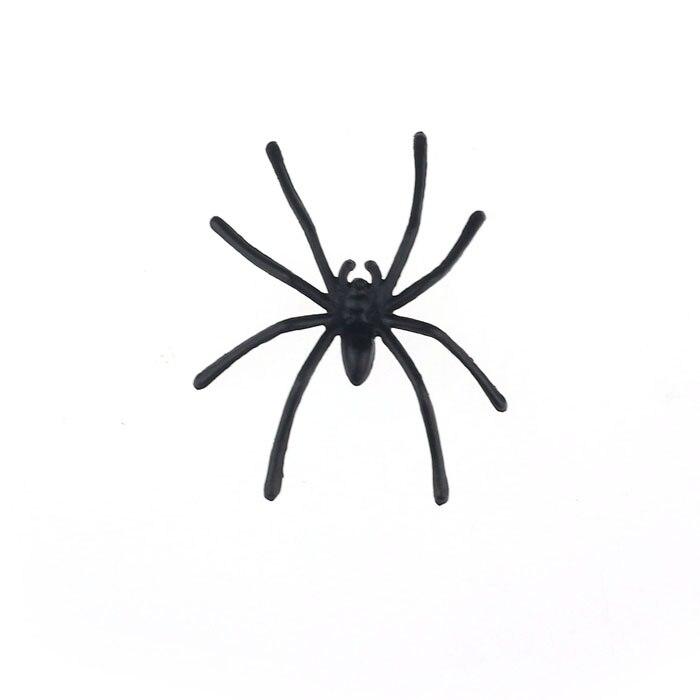 CHAMSGEND Modern pcs about4.5cmx5cm Halloween Plastic Black Spider Realistic Joking Toys home Decoration cheap big sale Sep30 12