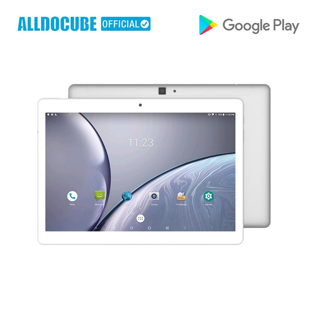 ALLDOCUBE M5X 10.1 pouces 4G téléphone appel tablette PC MTK X27 2560*1600 IPS Android 8.0 Deca core 4 GB RAM 64 GB ROM 5MP GPS double WIFI