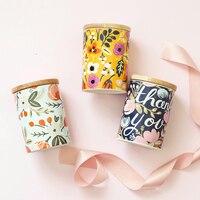 Ceramics Seal Food Storage Bottle Jar Scandinavia Candy Coffee Makeup Tools Storage Container Home Organizer Decor Sugar Bowl