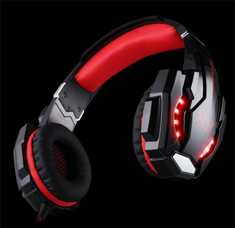 G9000 USB 7.1 Surround Sound Version Game Gaming Headphone Computer Headset Earphone Headband with Microphone LED Light (14)