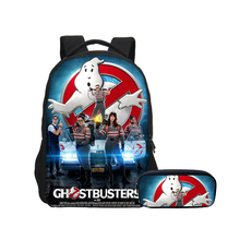 VEEVANV Funny Anime Ghostbusters Cartoon 3D Print Backpacks Pencil case  2pcs Set School Bag Pack ea8d36e4af