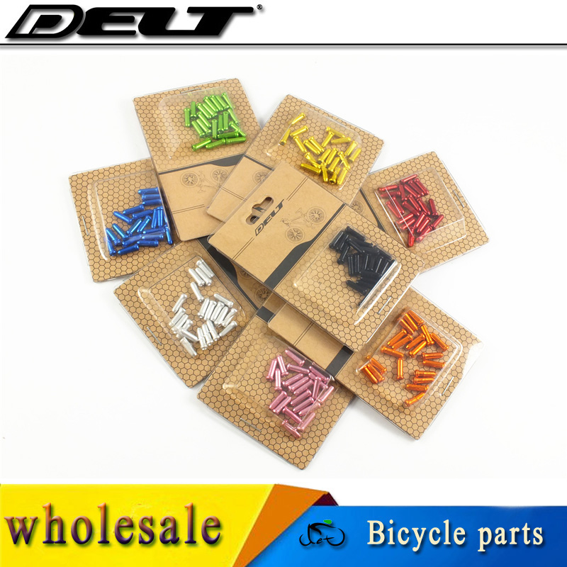 Mountain Road MTB Bicycle Bike Brake Inner Cable Shift Core End Caps End Tips 1.8*12mm Accessories