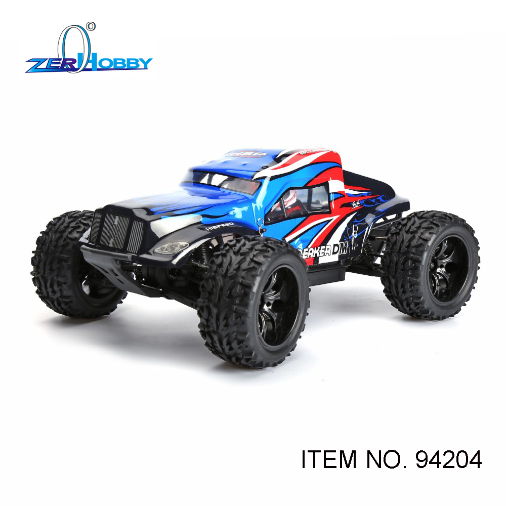HSP RACING RC CAR BREAKER 94204 1/10 SCALE ELECTRIC POWERED 4WD OFF ROAD MONSTER SAND RAIL TRUCK BATTERY NOT INCLUDED 02023 clutch bell double gears 19t 24t for rc hsp 1 10th 4wd on road off road car truck silver