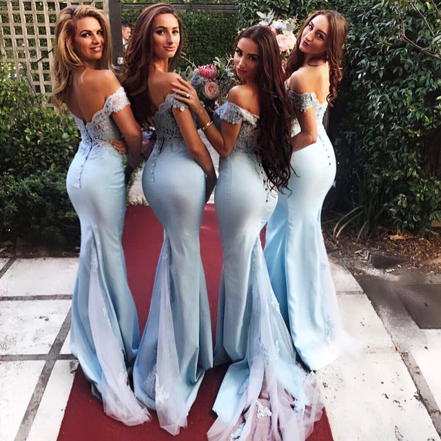 fedb1e26fe9 Sexy Off Shoulder Sweetheart Long Gold Sequins Bridesmaid Dresses Mermaid  Gowns With Slit