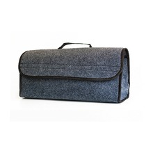 Felt Cloth Folding Storage Bag Adjustable Car Trunk Organizer Multipurpose Collapse Portable Travel