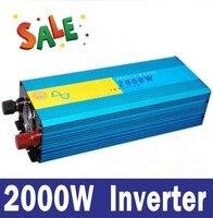 2000W Pure Sine Wave Power Inverter DC AC Inverter For Wind Solar PV System DC12 24
