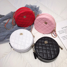 Small Round Shoulder Bags/clutch with Chain