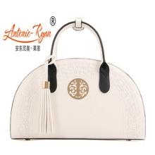 Antonio Ryan Brand Crossbody bags national wind classical Chinese red lady handbag female handbags girl shoulder bag women shell