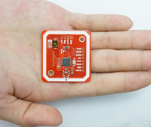 PN532 NFC RFID module V3 kits -- NFC with Android phone with Card Tag Ring Cable Pin for Schematic and library