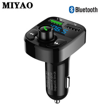 FM Transmitter Bluetooth Handsfree Car Kit Audio MP3 Player with 3.1A Dual USB Car FM Transmittor Phone Charger Power Modulator baseus bluetooth 4 2 car charger kit fm transmitter handsfree audio mp3 player 3 4a dual usb aux modulator mobile phone charger