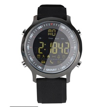 EX18 Diving Sport Smart Watch 5ATM IP67 Standard Waterproof Bluetooth 4.0 SMS Reminder Monitor Pedometer Wristwatch Android iOS