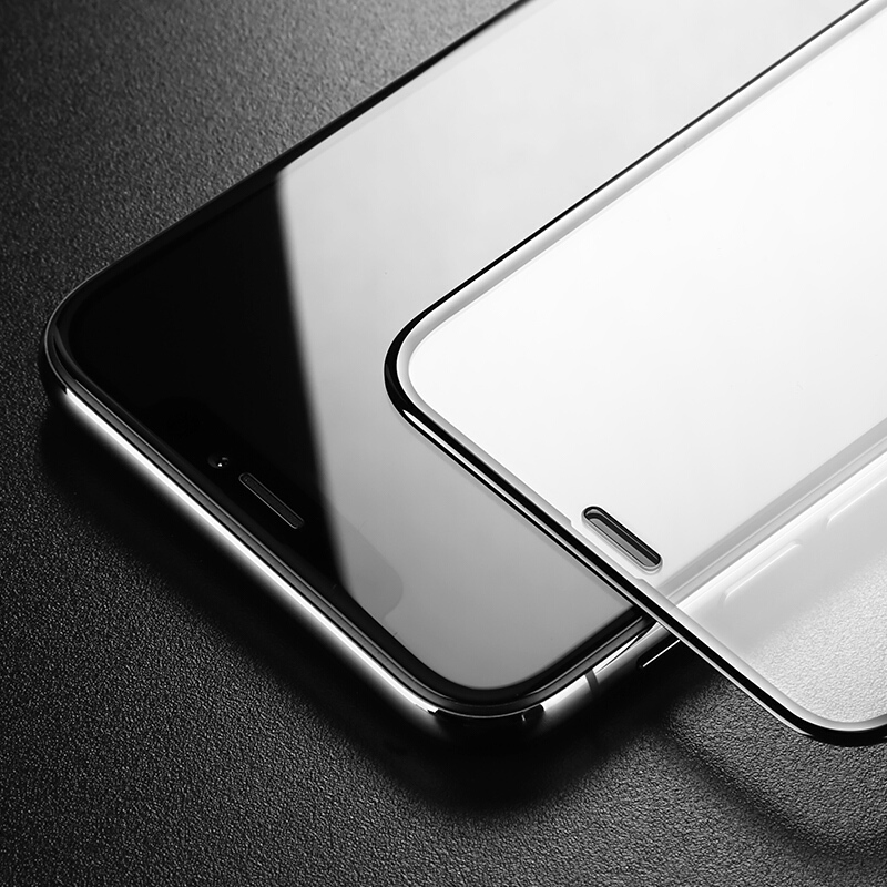 TOMKAS 5D Curved Edge Premium For Apple iPhone X 10 Glass Tempered Full Cover For iPhone 8 7 6 6S Plus Protective Glass Film
