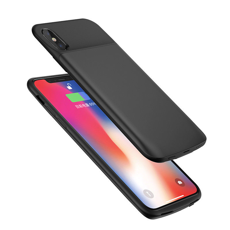 Slim Rechargeable Battery Soft Case Charger Cover backup For Apple iPhone X 10 стоимость