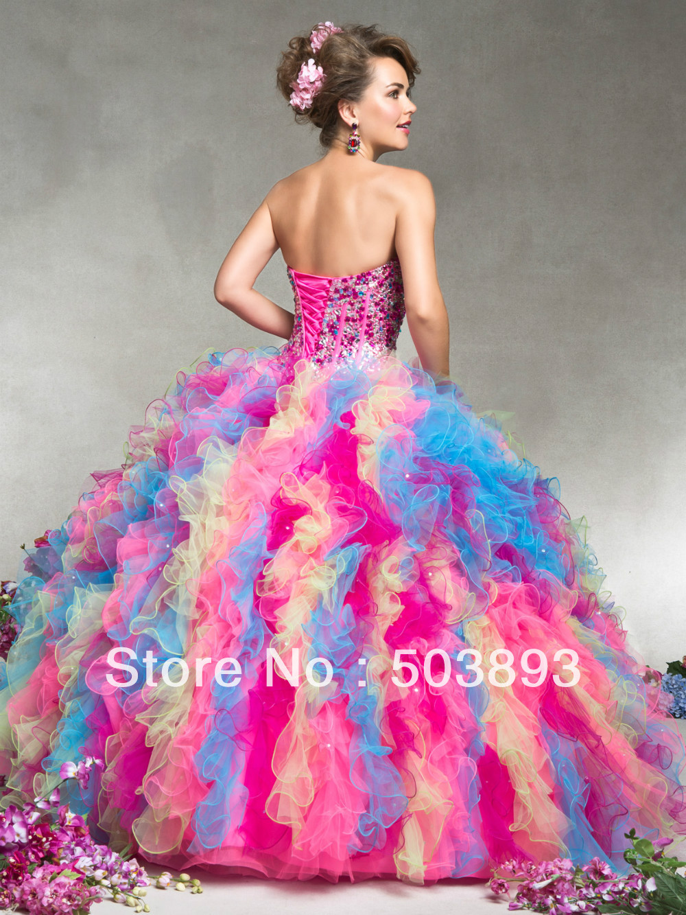 Colorful Sweet 16 Dresses