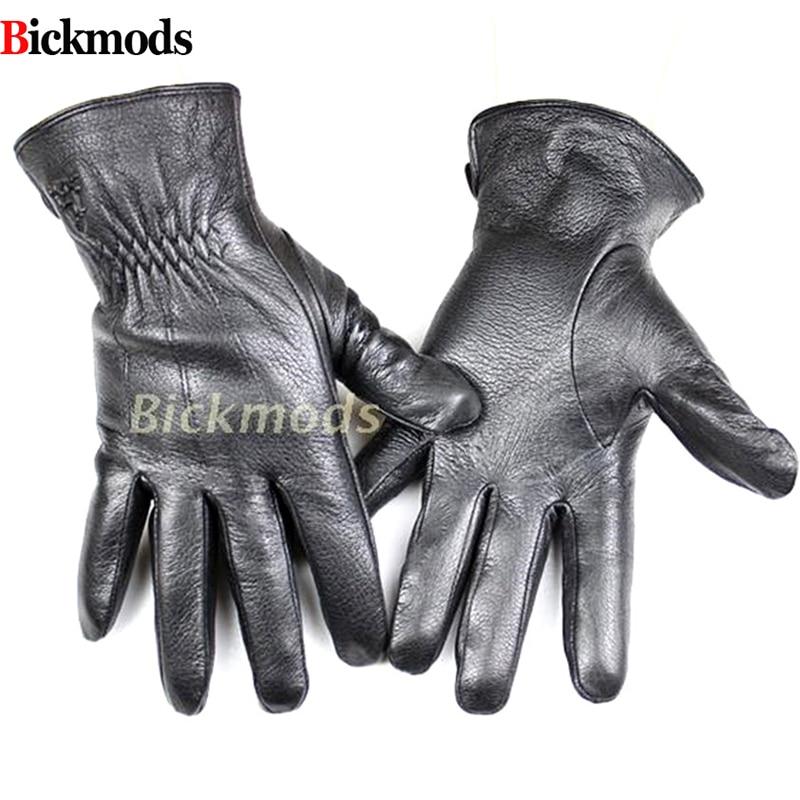 Δερμάτινα γάντια ανδρών μόδας στυλ ριγέ κασμίρι επένδυση δερμάτινα γάντια λεπτό φθινόπωρο και το χειμώνα κρύο και ζεστό δωρεάν ναυτιλία