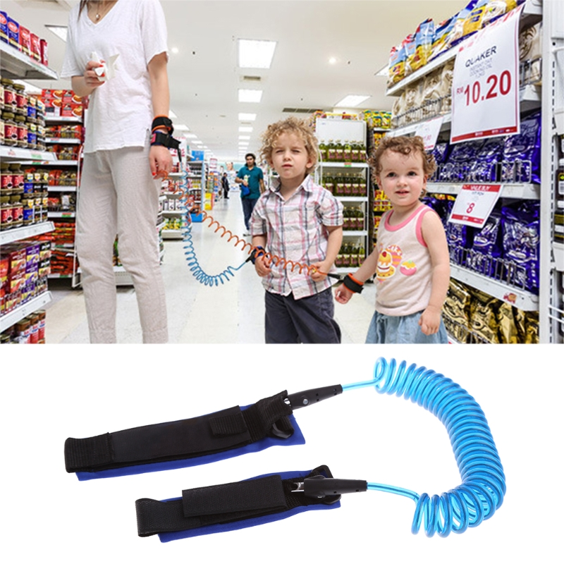 2 5M Baby Safety Anti lost Strap Walking Harness Wrist Band Leash Belt Traction Rope P101