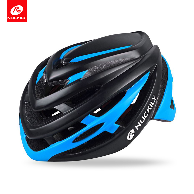 NUCKILY Bike Helmet Integrally molded CE Standard Protection PC Shell EPS Liner Cycling Helmet With Reflective