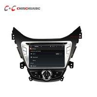 1024 600 Quad Core Android 5 1 1 Car DVD Radio GPS For Hyundai Elantra 2012