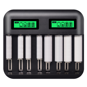 Image 4 - 8 Slots Lcd Display Usb Smart Battery Charger For Aa Aaa Sc C D Size Rechargeable Battery 1.2V Ni Mh Ni Cd Quick Charger