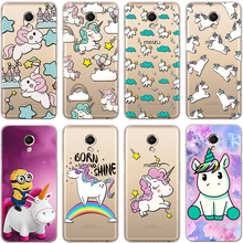 Unicorn Case For Meizu Meilan 2 3S A5 M2 M5 M5S M6 U20 Coque