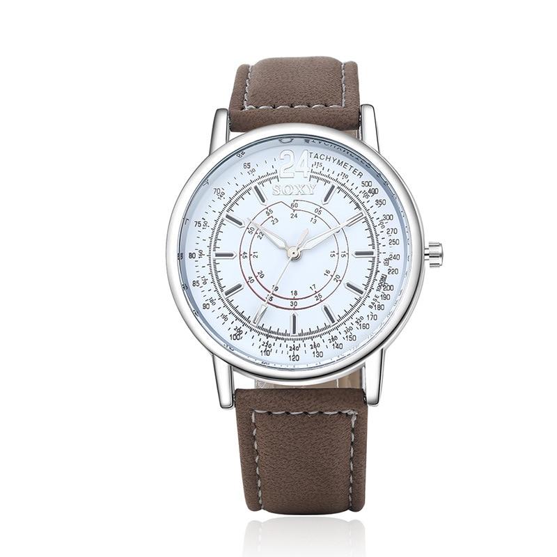 populaire herenhorloge creatieve quartz uurwerk horloge van hoge - Herenhorloges - Foto 4