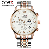 O2 Mens Watches Top Brand Luxury LIGE Military Sport Quartz Watch Men Waterproof Full Stainless Steel