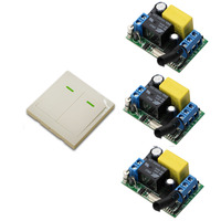 New AC220V 10A Wireless Remote Control Switch 1CH Receiver Relay Radio Controller Switch Wall Transmitter 315Mhz