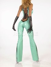 Hot sale charming latex garments wear latex suit