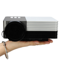 Portable GM50 multimedia Video GM50 80lm Mini LED Projector Support 1080P for SD HDMI VGA AV USB Micr