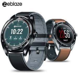 """Image 1 - Zeblaze NEO 1.3 """"كامل مستدير شاشة تعمل باللمس Smartwatch ضغط الدم مراقب معدل ضربات القلب الإناث الفسيولوجية تحقق العد التنازلي ساعة"""