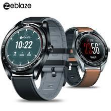 """Zeblaze NEO 1.3 """"tam yuvarlak dokunmatik ekran Smartwatch kan basıncı nabız monitörü kadın fizyolojik kontrol geri sayım izle"""