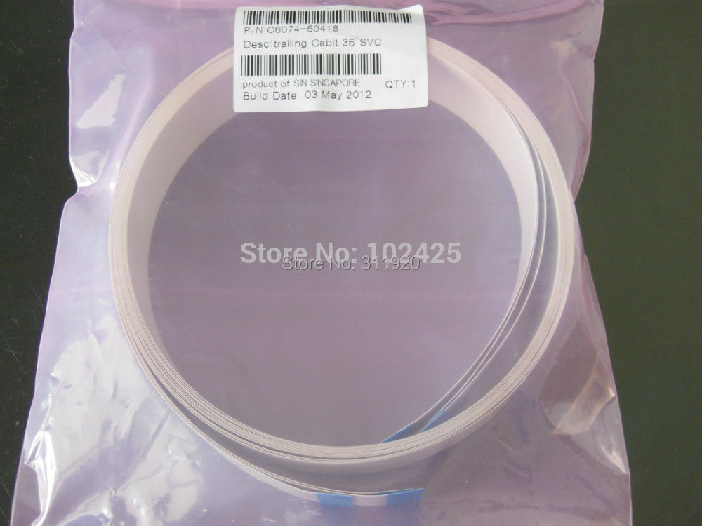 1piece  new Carriage Trailing Cable For HP DesignJet 1050 1050C 1055 1055CM Plus ,Parts Number C6074-60418 new 1 x trailing cable for hp deskjet 1280 cable hp1280 c8173 length 58cm