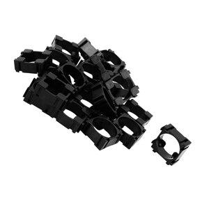 Image 2 - Top Deals 20pcs 18650 Lithium Cell Cylindrical Battery Case Holder Batteries Pack Plastic Holder Bracket For Diy Battery Pack