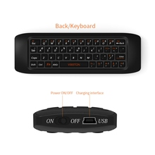 2.4G Fly Air Mouse Raspberry pi 3 Wireless Keyboard Remote control Learning keyboard Combo for Android TV Box Computer teclado