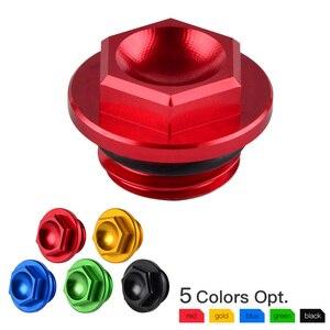 Oil Filler Cap Plug For Honda CBR 250RR 600RR 954RR 1000RR For Kawasaki ER4N ER6F ER6N Ninja 400 Versys 650 1000 Z650 Z1000