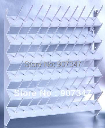 Free Shipping High Quality Thread Display Plastic Stands, Thread Rack For 60 Cones Available, Made Of PP