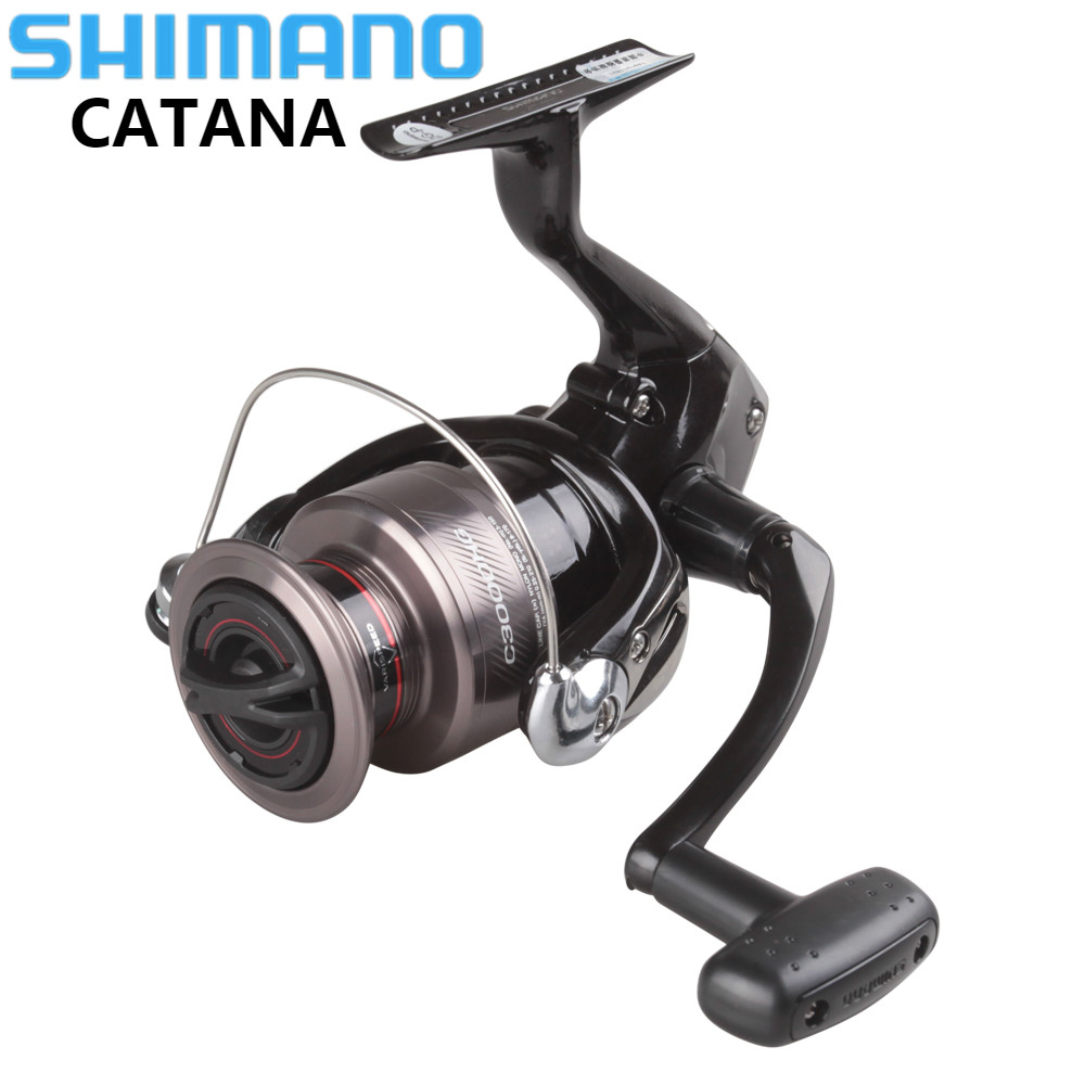 SHIMANO CATANA 2500HG 3000HG 4000HG Spinning Reel 2+1BB Lure Fishing Reel Molinete Long Cast Spinning Wheel Carretilhas De Pesca shimano catana dx spinning 2 7 10 30