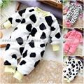 Newborn Baby girl boy mamelucos ropa de bebé de tela polar de coral nivel mameluco largo de la manga para la primavera y el invierno bebé mono