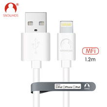 Snowkids MFi Cable for iPhone X 8 7 6 5 Pad Pod mini plus Data Sync Charger Cable for Lightning to USB Compatible Up to iOS12(China)