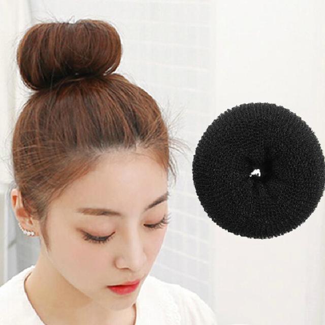 63 In 1 Pro Hair Bun Clip Maker comb headband Pads bangs Hairpins Roller  Braid Twist Sponge Styling Accessories Tools Kit Set 876dcc1edff
