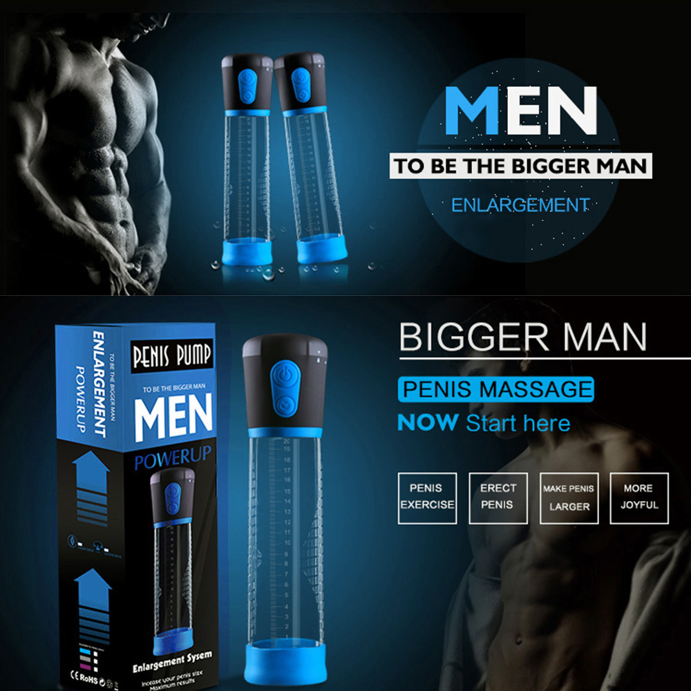 CANWIN Electric Penis Pump Enlargement Pump Enlarge Automatic Vacuum Suction Penis Extend Sex Toy Exercise Adult Product for Men