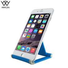 XMXCZKJ Universal Mobile Phone Tablet Holder Flexible Mini Desk Stand Anti Slide Silicone Rubber For iPhone Samsung