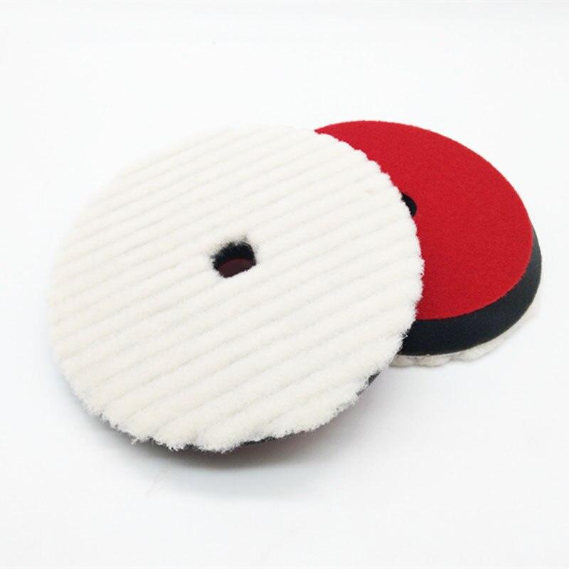 & polimento pad espuma almofada de lã