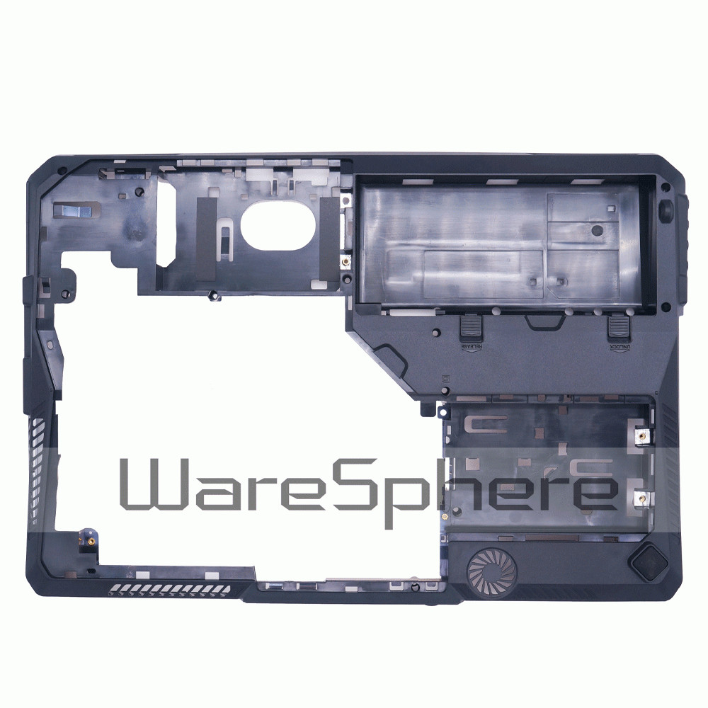 NEW Laptop Bottom Base Case Cover Lower Case for MSI GT60 MS-16F3 Notebook D Shell E2P-6F1D2XX-P89 6F1J211P89 Black new for lenovo ideapad yoga 13 bottom chassis cover lower case base shell orange w speaker l